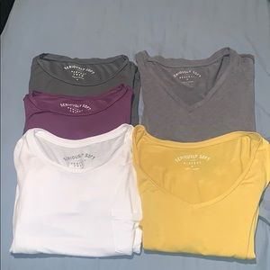 Soft tee bundle